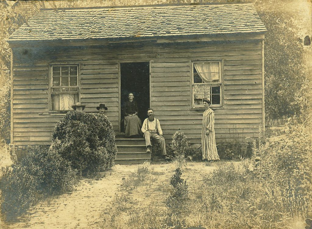 House where George Paul was born