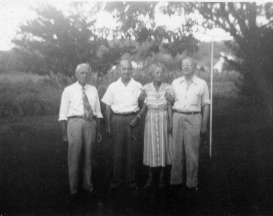 George, Henry, Marella and Arthur Paul