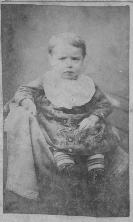 George Paul as infant