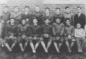 Powell High School Football - 1930
